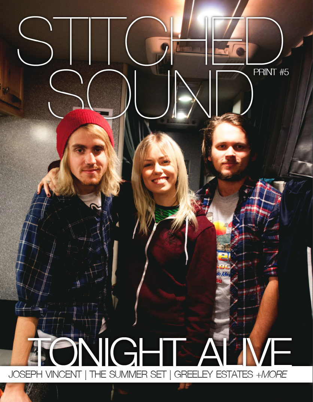 Stitched Sound Print Issue #5: Tonight Alive
