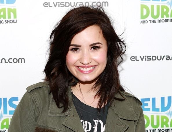 Demi Levato Visits Elvis Duran Z100 Morning Show