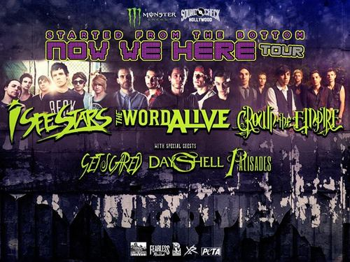 Started From The Bottom Now We Here Tour: I See Stars & The Word Alive