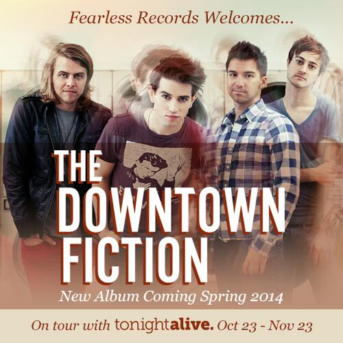 fearless records sign the downtown fiction stitched sound. Black Bedroom Furniture Sets. Home Design Ideas