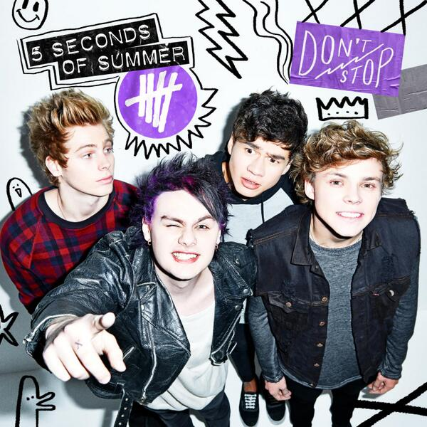 5 Seconds Of Summer Announce 'Don't Stop' EP – Stitched Sound