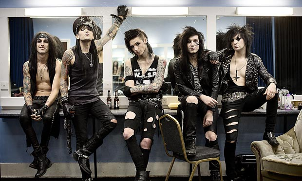 black veil brides release new song the outsider stitched sound
