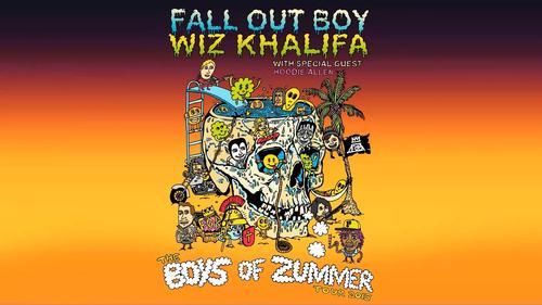 Fall Out Boy and Wiz Khalifa Announce Summer Tour