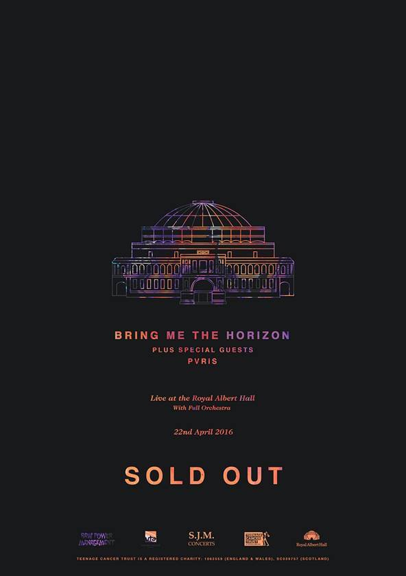 PVRIS to Support Bring Me The Horizon at Royal Albert Hall