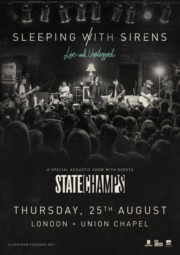 Sleeping With Sirens + State Champs Announce London Acoustic Show