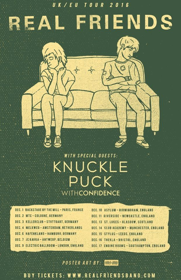 real friends knuckle puck announce winter european tour stitched