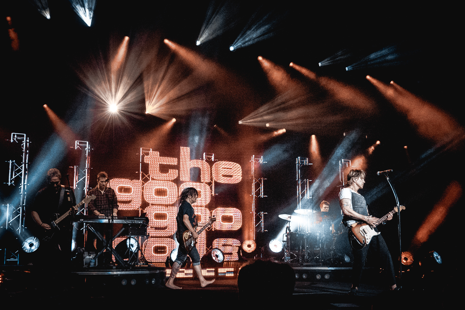 Goo Goo Dolls & Train // Clarkston, MI // 07.23.2019
