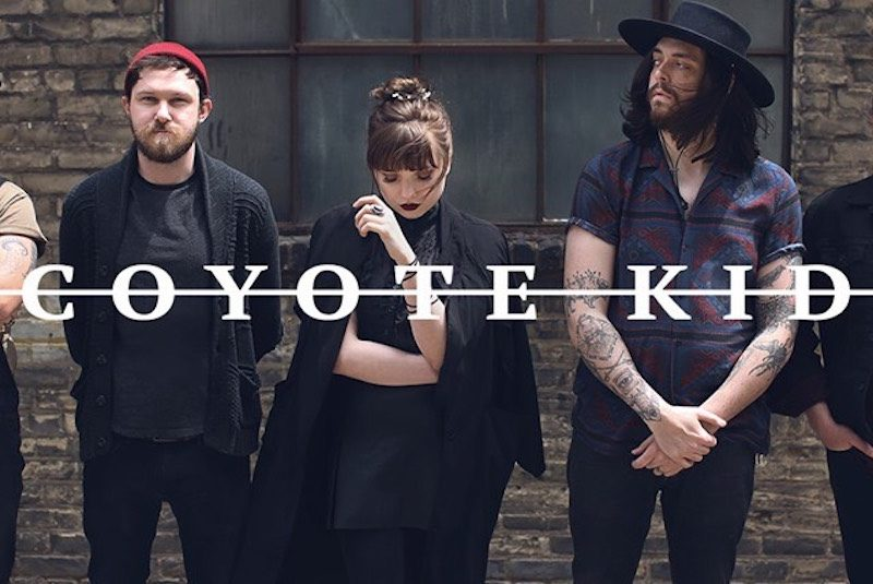 "Coyote Kid premieres new single and video for ""Strange Days"""